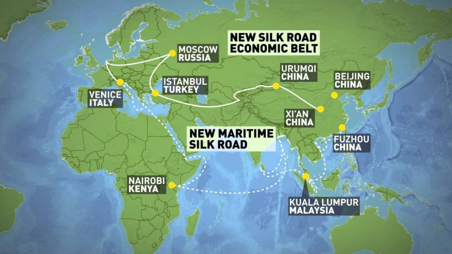 One Belt One Road - Silk Road